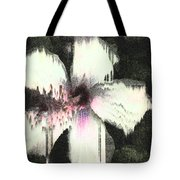Melting Hibiscus Tote Bag