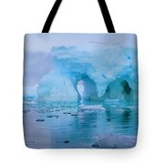 Melting Iceberg Tote Bag