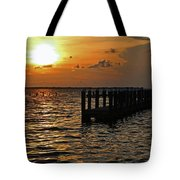 Melting Into Darkness  Tote Bag