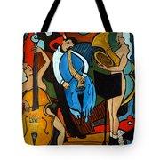 Melting Jazz Tote Bag