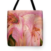 Melting Lilly Tote Bag