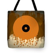 Melting Music Tote Bag