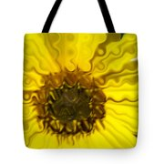 Melting Sunflower Tote Bag