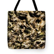 Melting Wood Tote Bag by Wim Lanclus