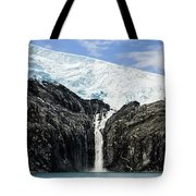 Meltwater From The Northland Glacier Tote Bag by Ray Bulson