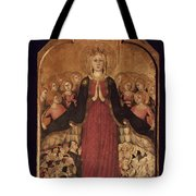 Memmi: Madonna In Heaven Tote Bag