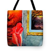Memoirs Of A Bloody Sunset Tote Bag