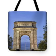 Memorial Arch Valley Forge Tote Bag