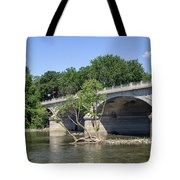 Memorial Bridge Tote Bag