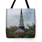 Memorial Chapel Far Tote Bag