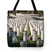 Memorial Day Tote Bag by Barry C Donovan
