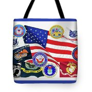 Memorial Day Collage Tote Bag