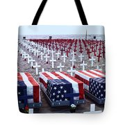 Memorial Day Remembrance At The Beach Tote Bag