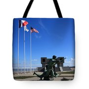 Memorial To The Fallen Soldier Tote Bag