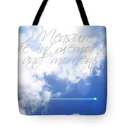 Memories And Moments Tote Bag