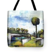 Memories From The Park Tote Bag