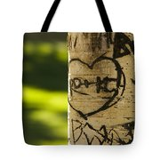Memories In The Aspen Tree Tote Bag