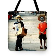 Memories Of A Better Time The Children Of New Orleans Tote Bag