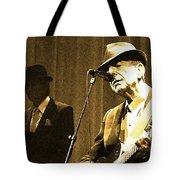 Memories Of Cohen Tote Bag