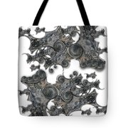 Memories Of Silent Creation Tote Bag