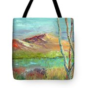 Memories Of Somewhere Out West Tote Bag