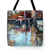 Memories Of Venice Tote Bag