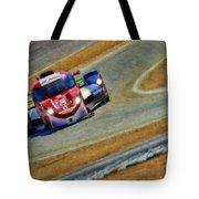 Memorojas And Katherine Legge Tudor United Sportcar Championship Tote Bag