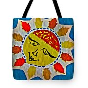 Memory Game Sun Tote Bag