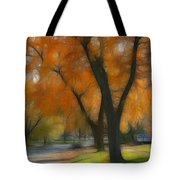Memory Of An Autumn Day Tote Bag