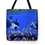 Memphis Blues Tote Bag