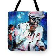 Memphis Music Legend William Bell On Stage 1 Tote Bag