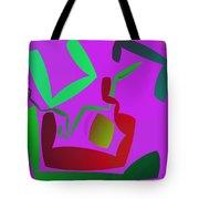Memory Cube Tote Bag