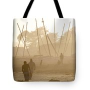 Men And Marina Tote Bag