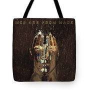 Men Are From Mars Gold Tote Bag