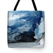 Mendenhall Glacier Face Tote Bag