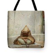 Mendicant In Meditation Tote Bag
