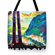 Mendola, Italy, Landscape Tote Bag