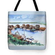 Menemsha Safe Haven Tote Bag