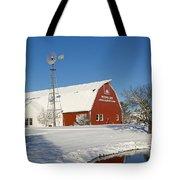 Menno Hof In The Snow 2 Tote Bag