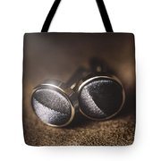 Mens Formalwear Cufflinks Tote Bag