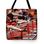 Mens Hurdles 2 Tote Bag