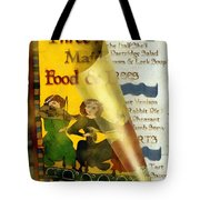 Menu From A Medieval Restaurant Tote Bag
