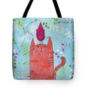 Meow Song Tote Bag