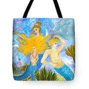 Mer Mum And Comb Tote Bag