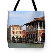 Mercato Di Rialto In Venice Italy Tote Bag