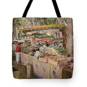 Mercato Provenzale Tote Bag by Guido Borelli