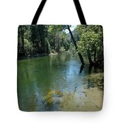 Merced River Banks Tote Bag