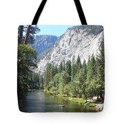 Merced River In Yosemite Tote Bag