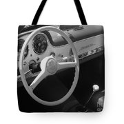 Mercedes 300sl Dashboard Tote Bag