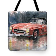 Mercedes Benz 300sl Tote Bag